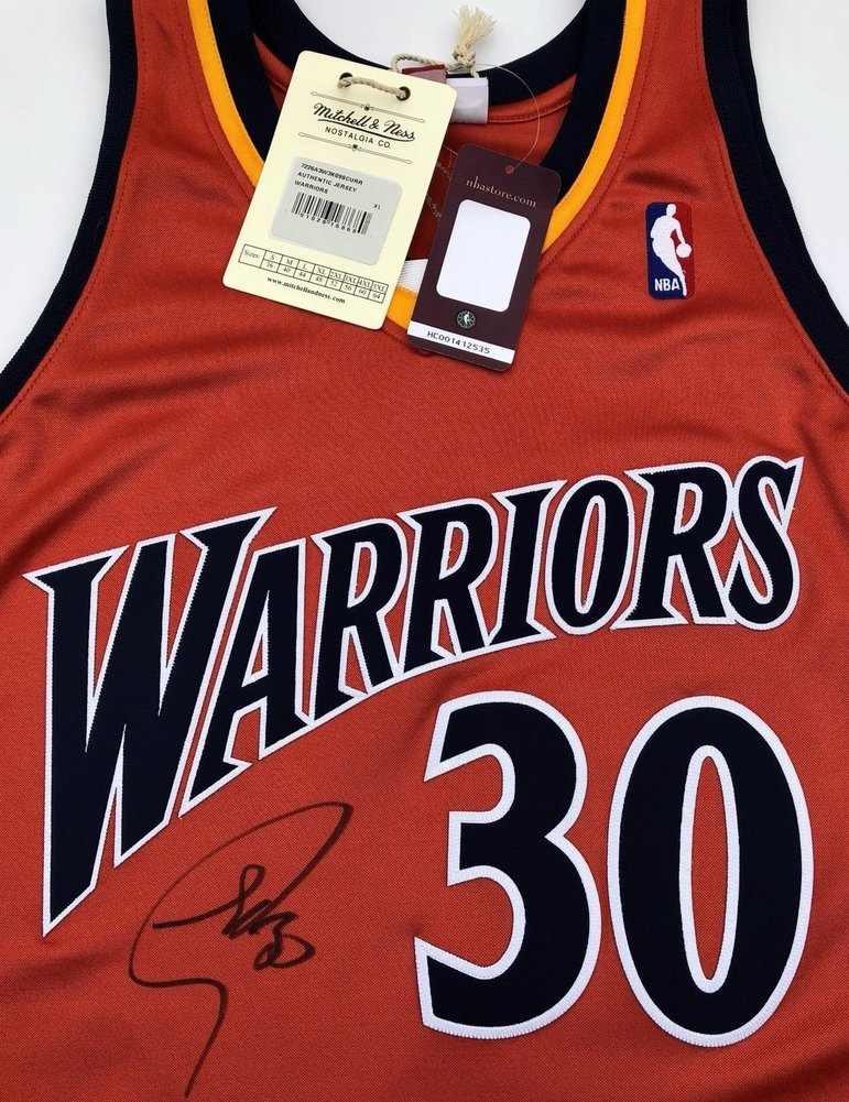 9ff8f96b7 Stephen Curry  30 Autographed Signed Memorabilia Golden State Warriors  Authentic Rookie Jersey (Size XL) PSA DNA. Loading Images...  2167.99 Price