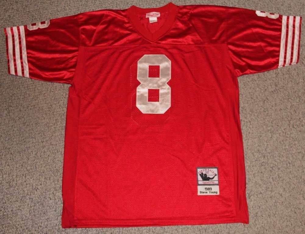 brand new c45f1 d15d5 Steve Young Autographed Signed Auto San Francisco 49ers ...