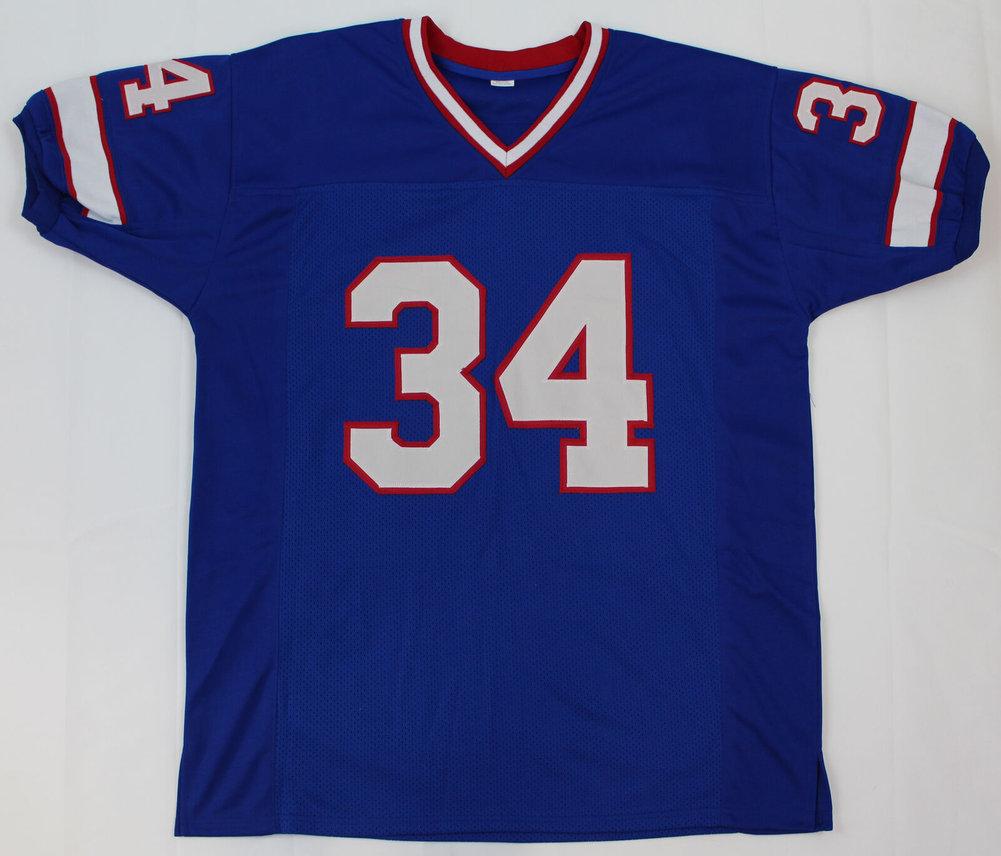 959bf92e274 Thurman Thomas Autographed Signed Buffalo Bills Blue Hof 07 Jersey  Memorabilia JSA COA. Loading Images...  261.99 Price