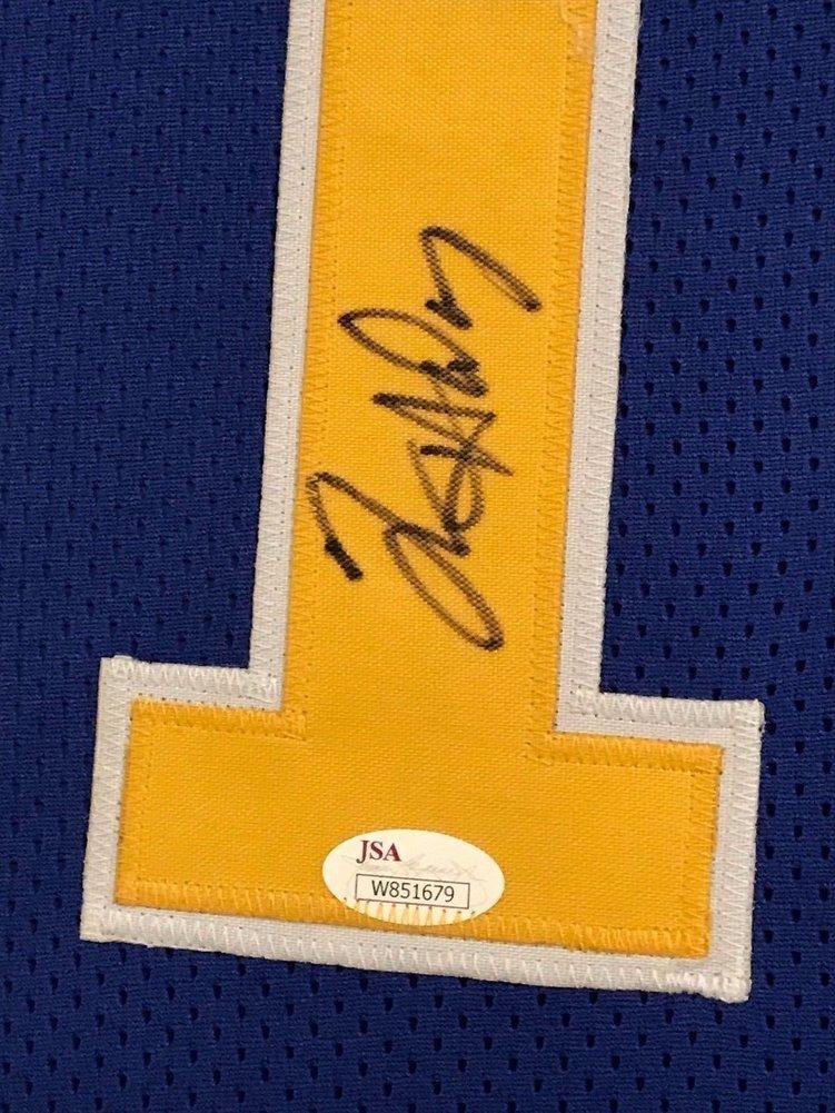 Tim Hardaway Autographed Signed Custom Framed Golden State Warriors