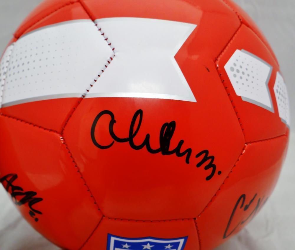 Us Women S Autographed Signed Full Size Team Usa Nike Soccer Ball ... 7250e2e2e