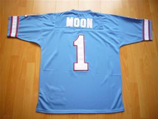 wholesale dealer c8b0c 1044e Warren Moon Unsigned Houston Oilers Custom Jersey - Size XL
