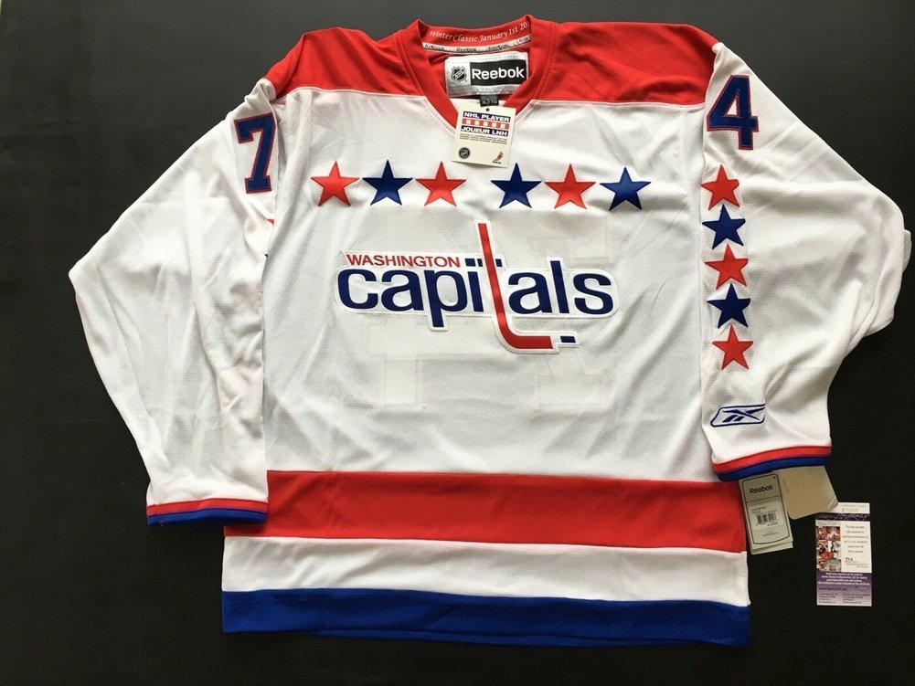buy online 24990 e343d Washington Capitals Winter Classic Jersey John Carlson ...