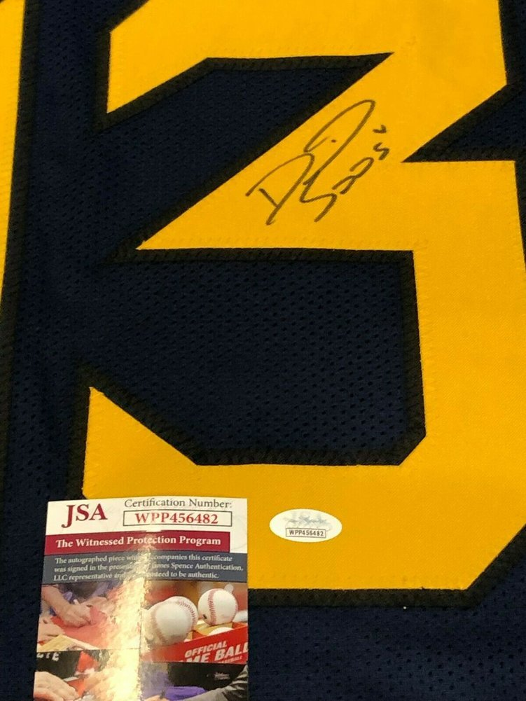 finest selection b8df8 0055e West Virginia Mountaineers David Sills Autographed Signed ...
