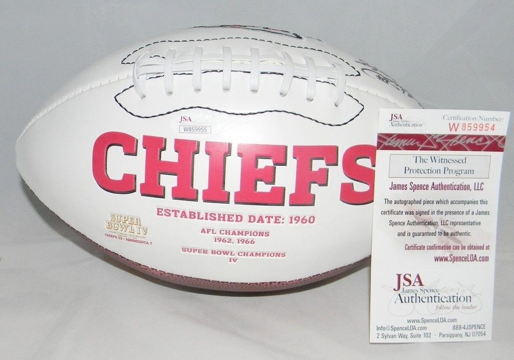Will Shields Autographed Kansas City Chiefs Logo Football Signed - JSA  Certified Authentic Hof 15. Loading Images...  171.99 Price c74e05b09