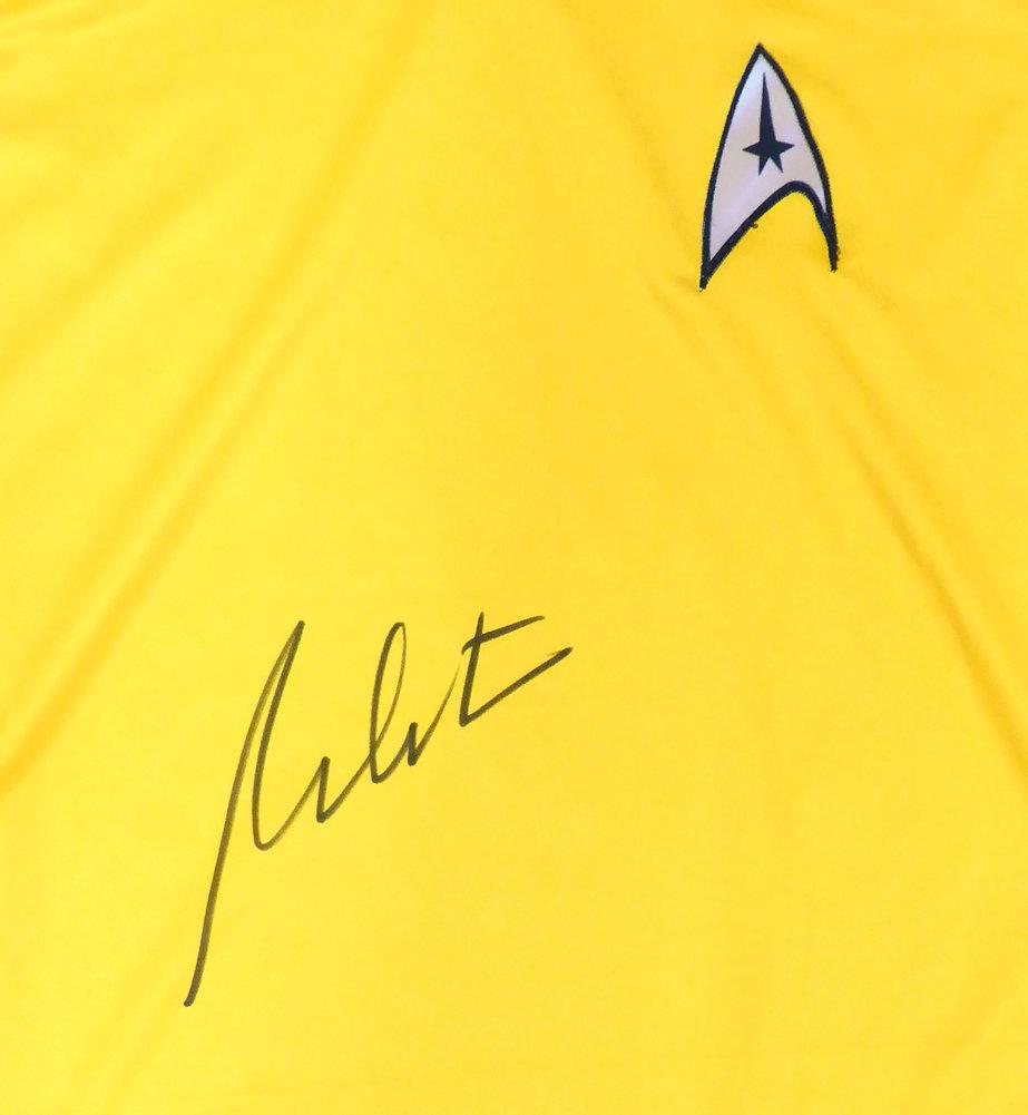 William Shatner Autographed Signed Framed Star Trek Uniform Shirt JSA Image a