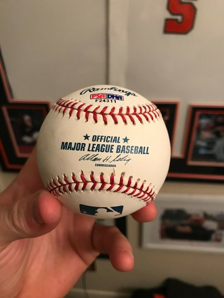62125ef03 Willie Mays Autograph Baseball. Loading Images...  1533.99 Price