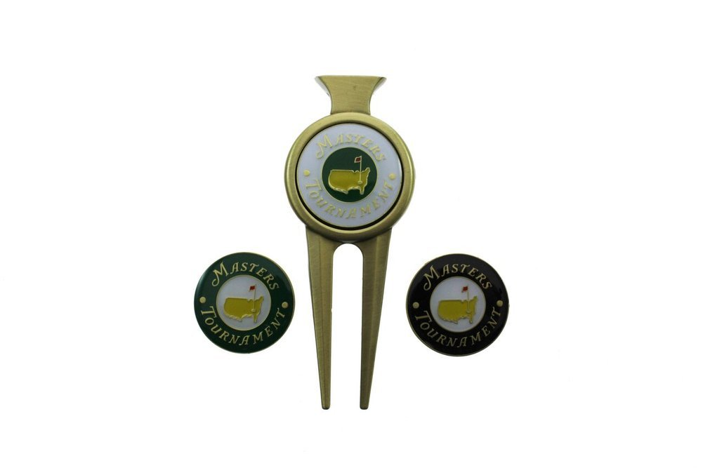 Classic Masters Divot Tool with Two Extra Ball Markers Image a