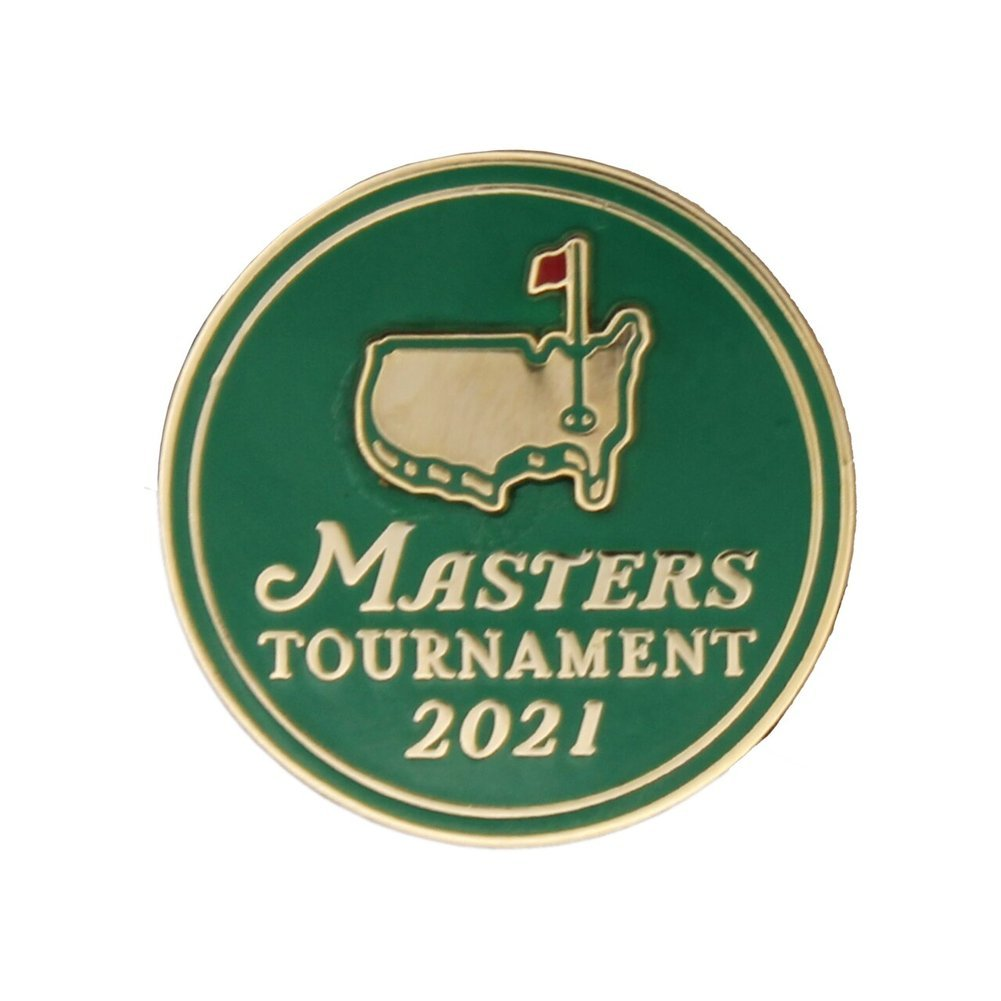 2021 Masters Commemorative Pin Image a