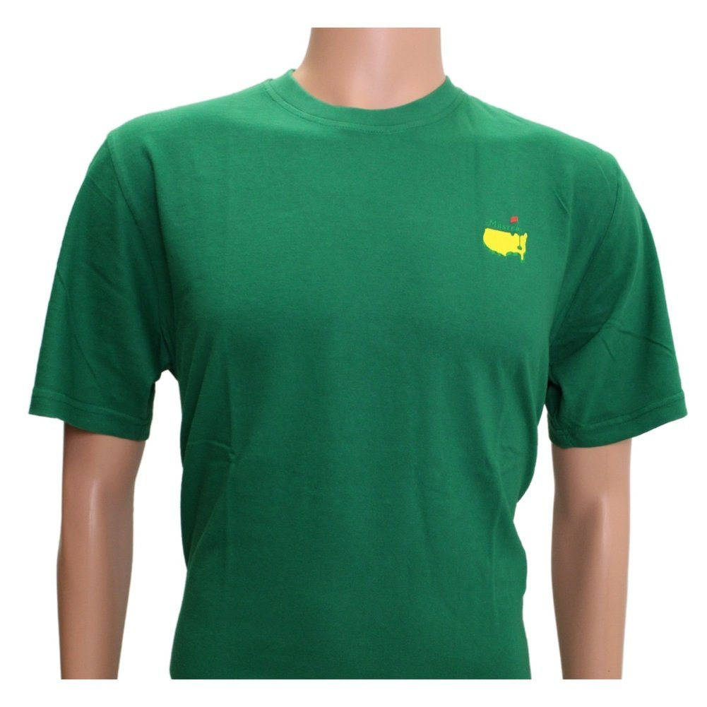 2021 Masters Green Champions T-Shirt Image a