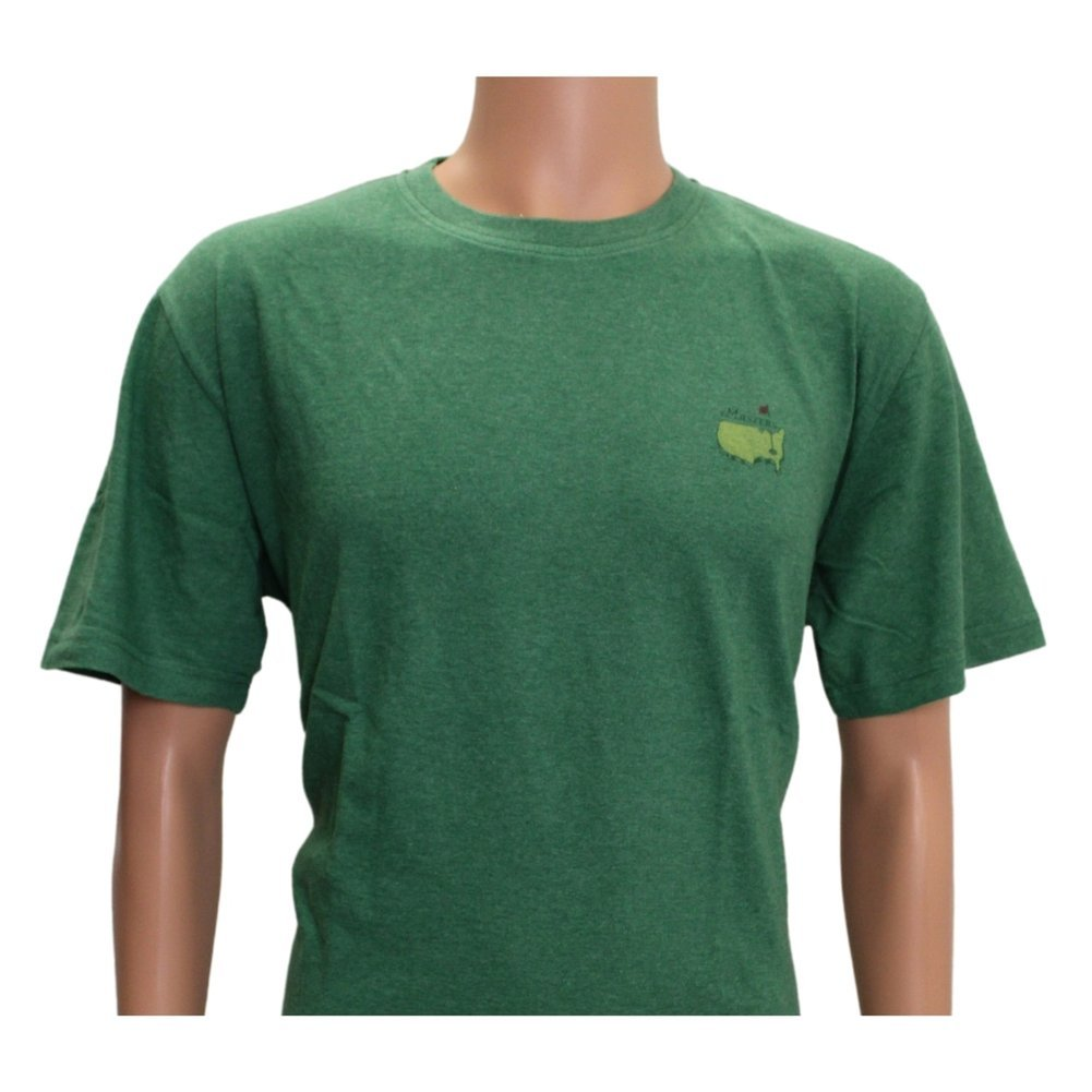 2021 Masters Green Logo T-Shirt Image a