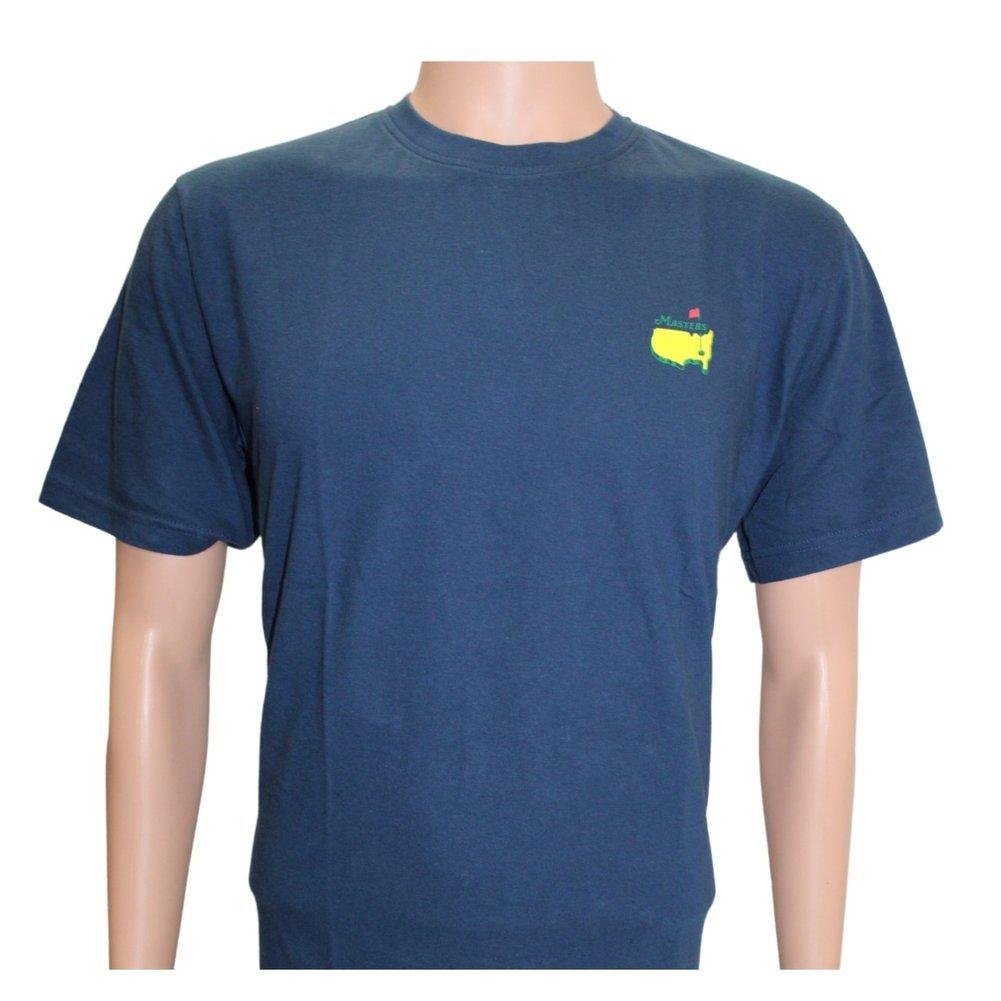 2021 Masters Navy Champions T-Shirt Image a