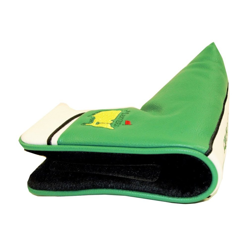 Masters Blade Leather Putter Cover - Green Image a