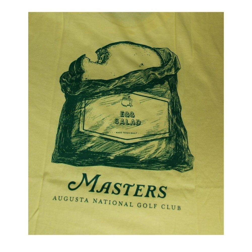 Masters Egg Salad Yellow T-Shirt Image a