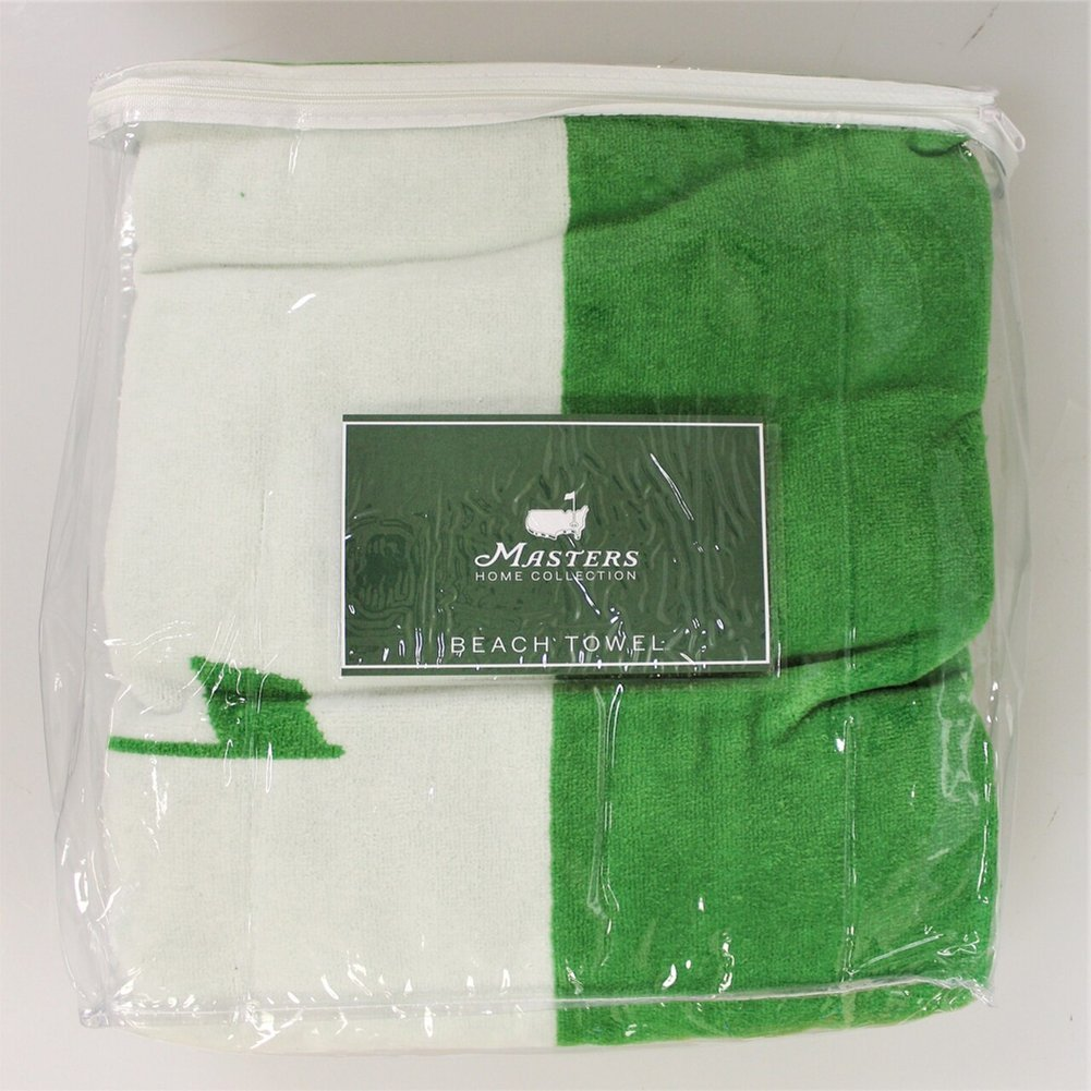 Masters Green Beach Towel Image a