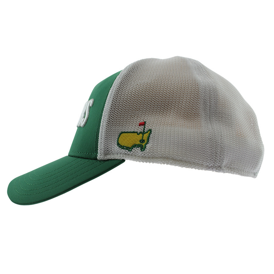 Masters Green Performance Tech Structured Trucker Hat Image a