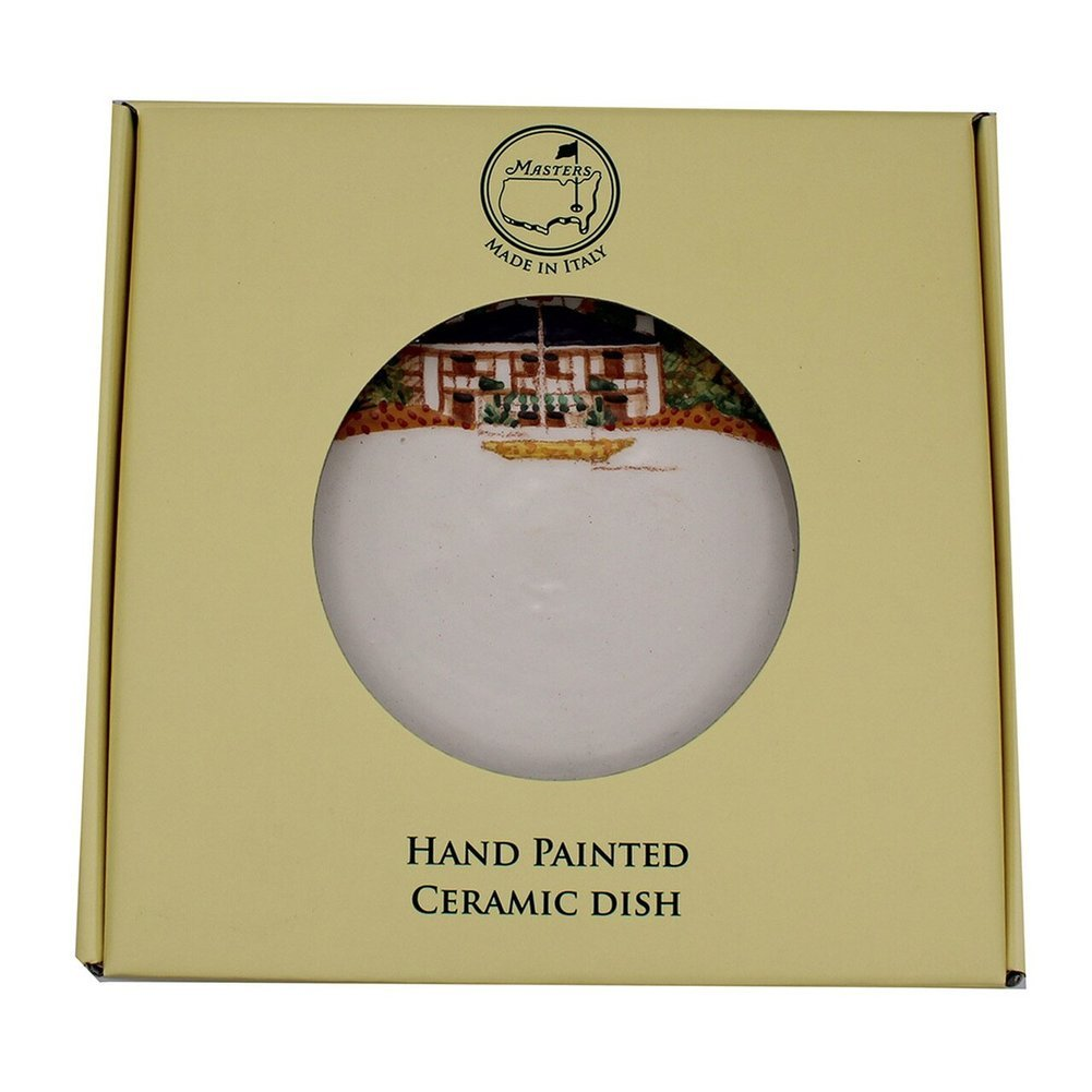 Masters Handpainted Clubhouse Small Round Plate Image a