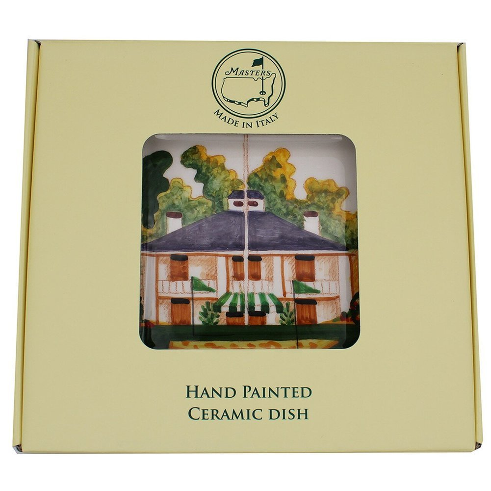Masters Handpainted Clubhouse Square Plate Image a