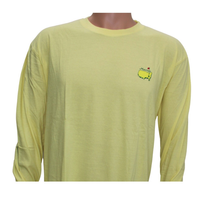 Masters Long-Sleeved Yellow Retro Shirt Image a
