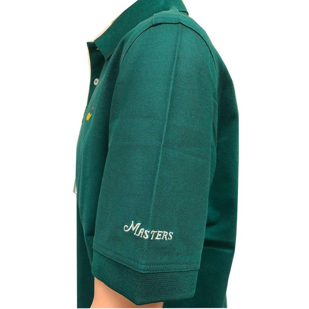 Masters Polo Shirt - Green - 100% Pima Cotton Image a