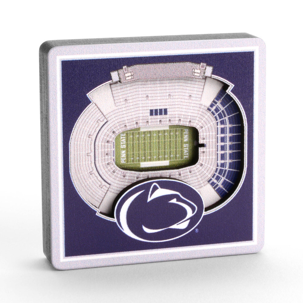 Penn State 3D StadiumView Magnet  Image a