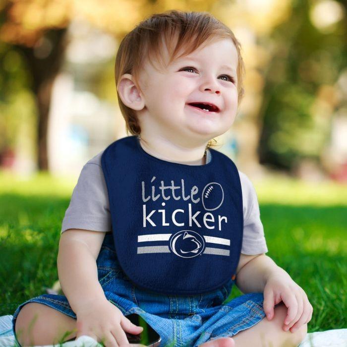 Penn State Baby Little Kicker Bib Image a