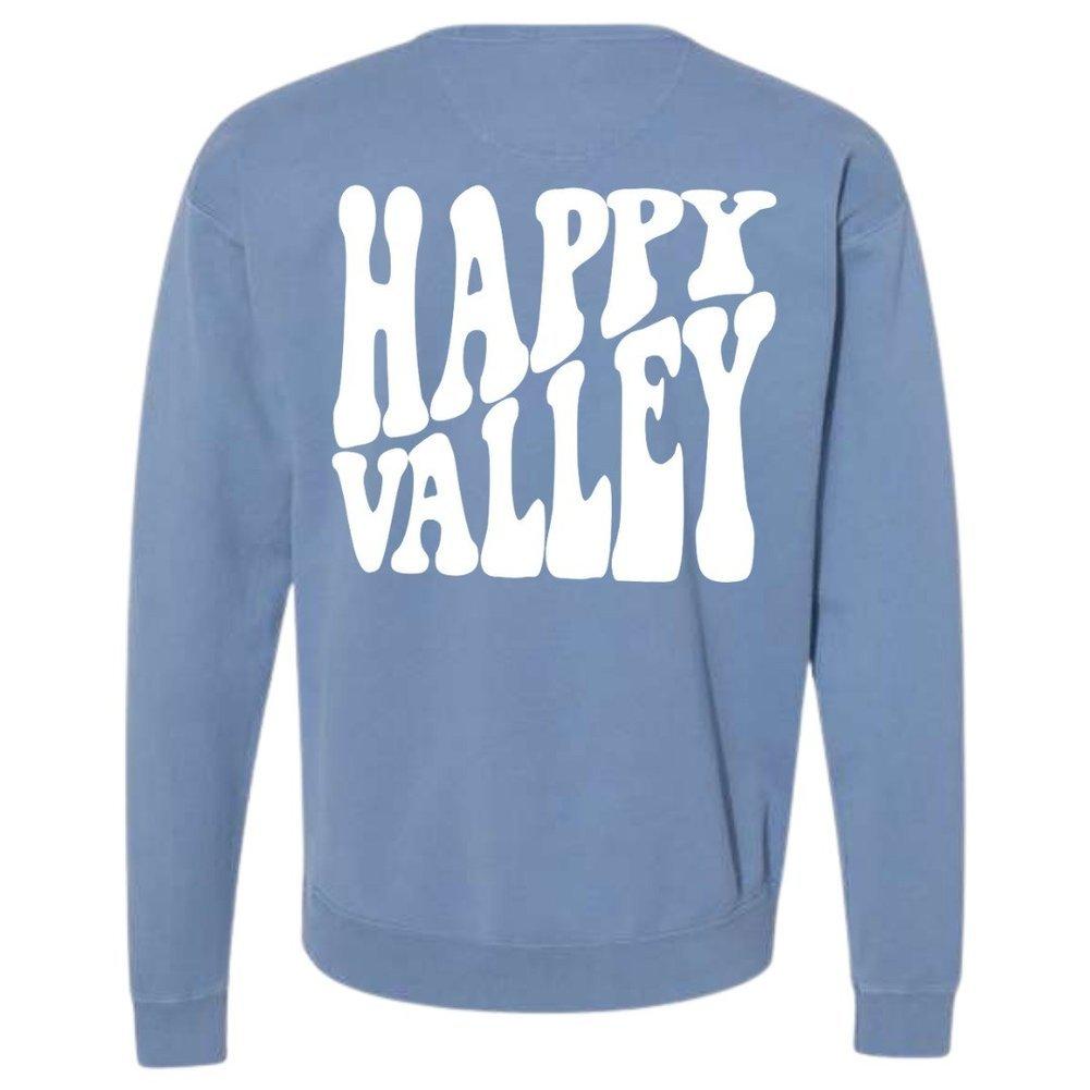 Happy Valley Retro Wavy Saltwater Crewneck Sweatshirt Image a