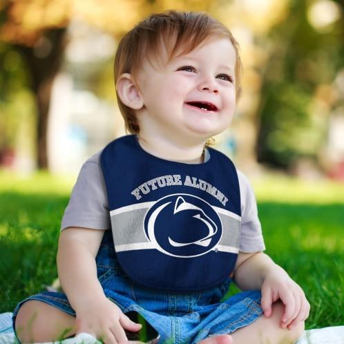 Penn State Future Alumni Baby Bib Image a