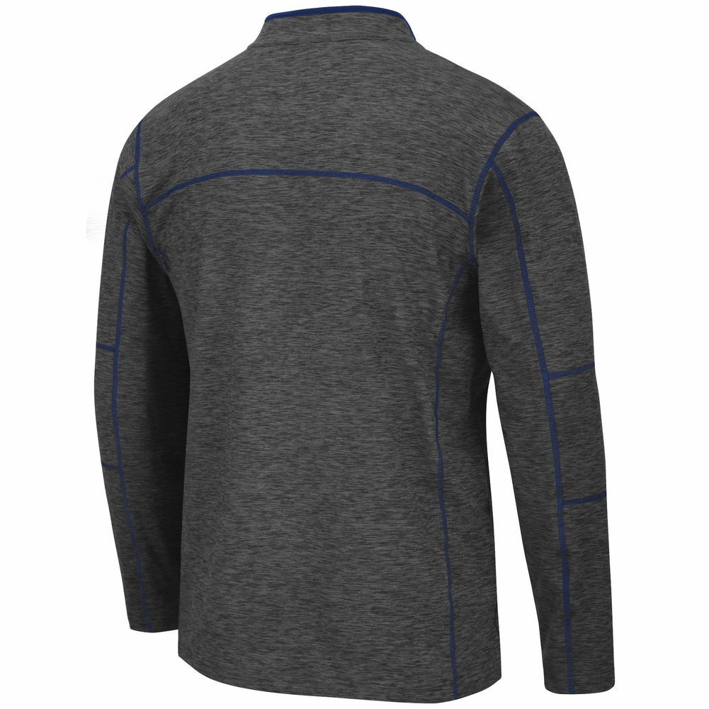 Penn State Heather Charcoal Platonish Quarter Zip Image a