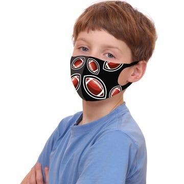 Kids Sports 3 Pack Cloth Face Masks  Image a