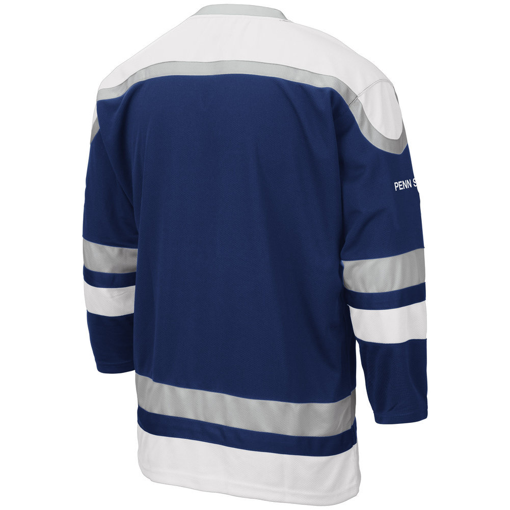 Penn State Mens Embroidered Athletic Hockey Jersey  Image a