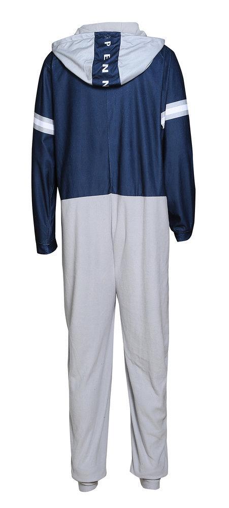 Penn State Mens Fleece Hooded Onesie Image a