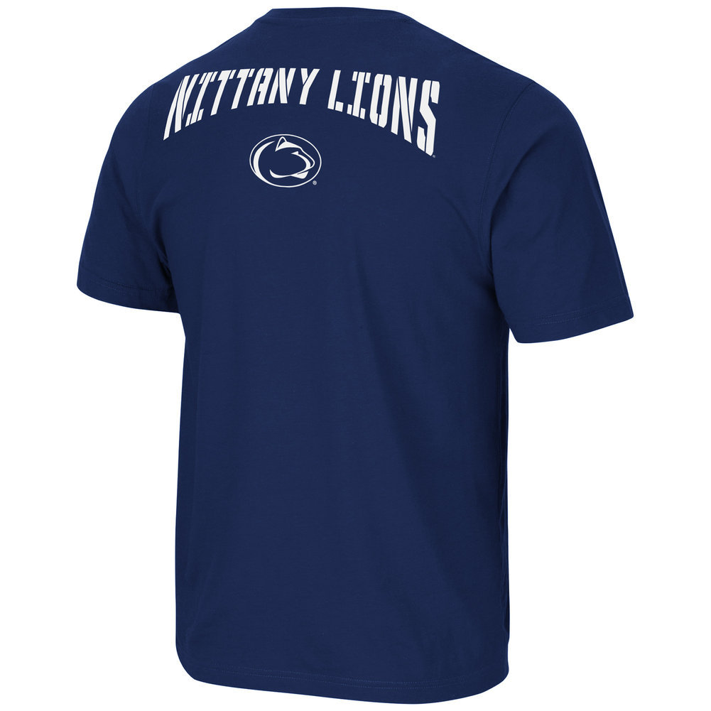 Penn State Navy Bueller Performance Tee  Image a