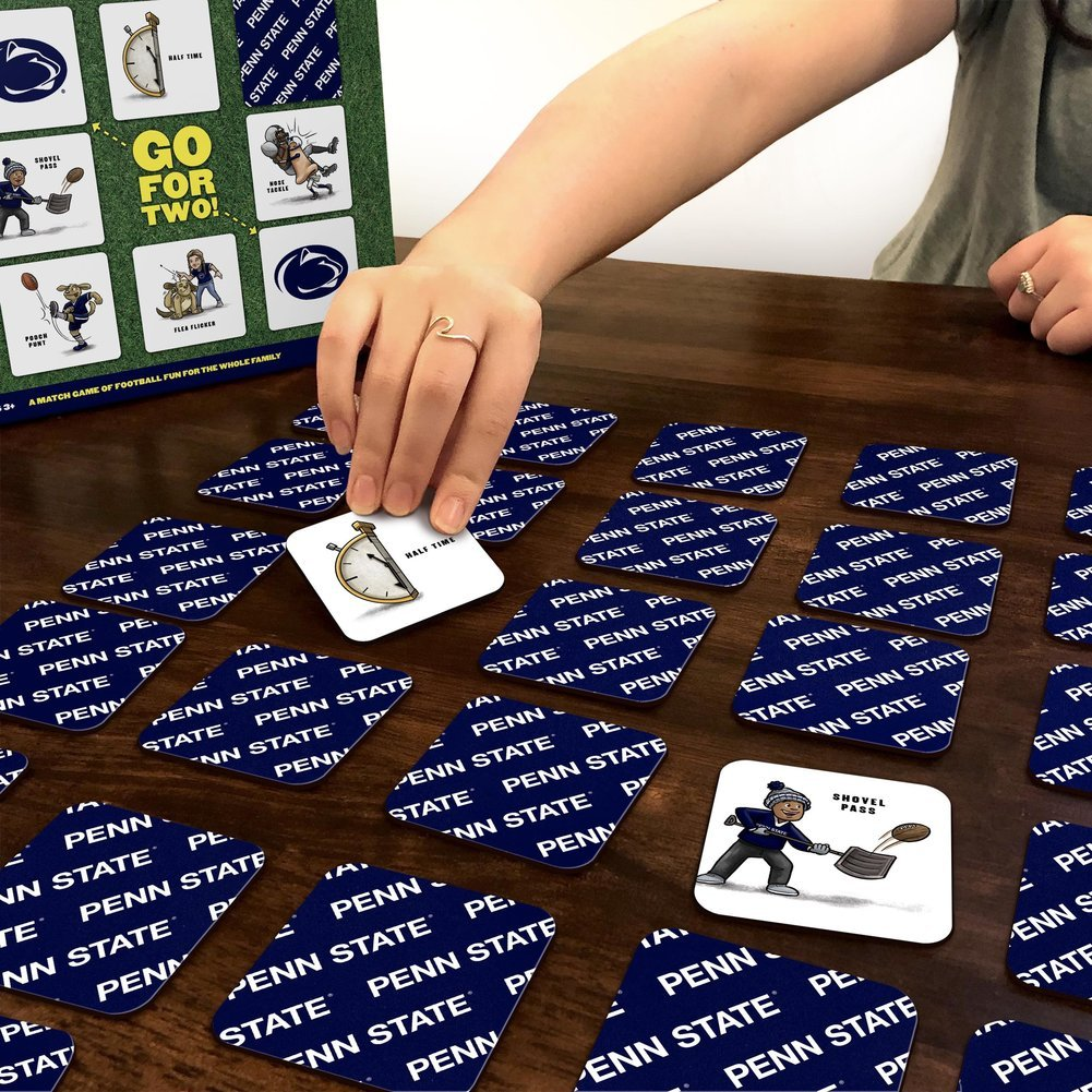 Penn State Nitany Lions Football Memory Match Game Image a