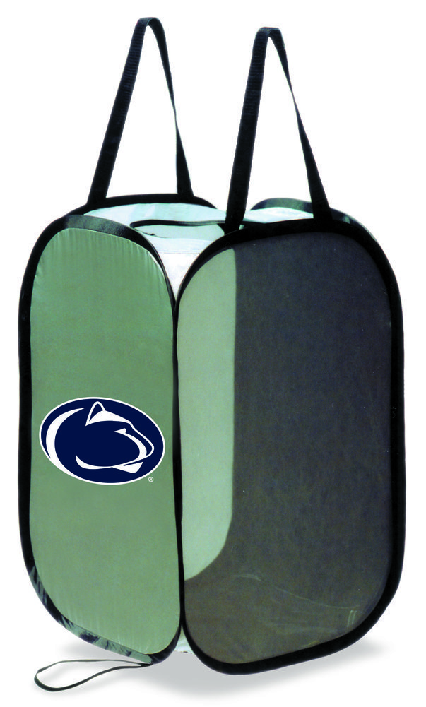 Penn State Nittany Lion Collapsible Laundry Hamper  Image a