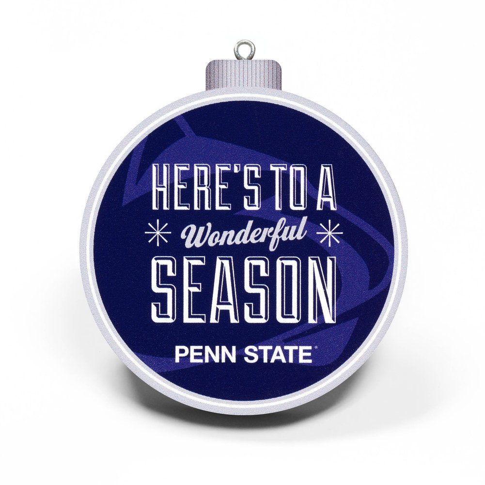 Penn State Nittany Lions 3D Beaver Stadium View Ornament Image a