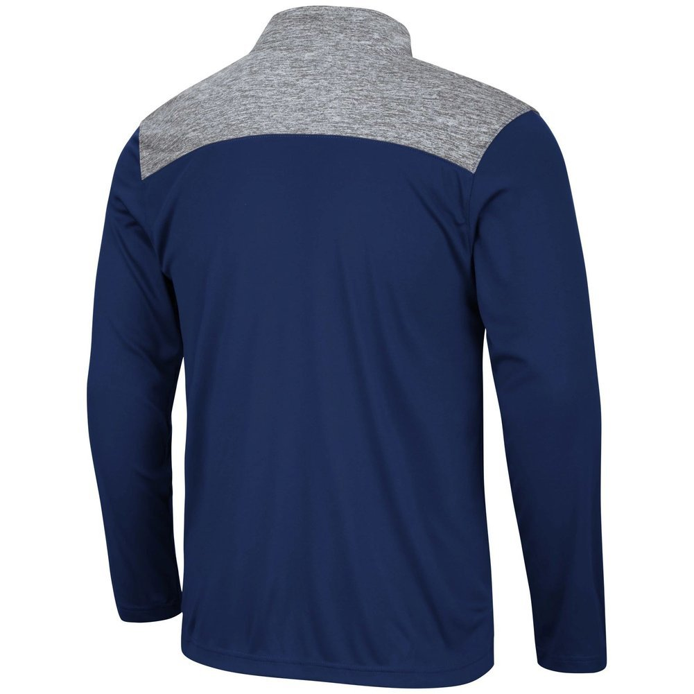 Penn State Nittany Lions Colorblock Striped Performance Quarter Zip Image a
