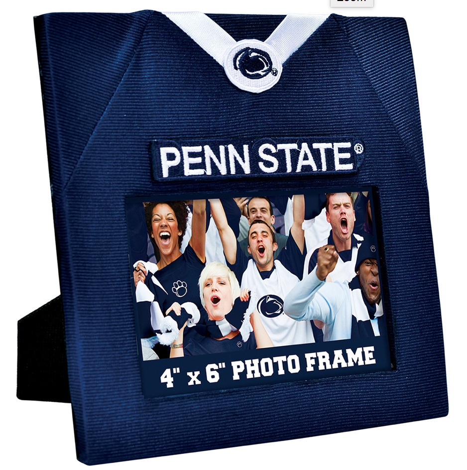 Penn State Nittany Lions Football Jersey Picture Frame Image a