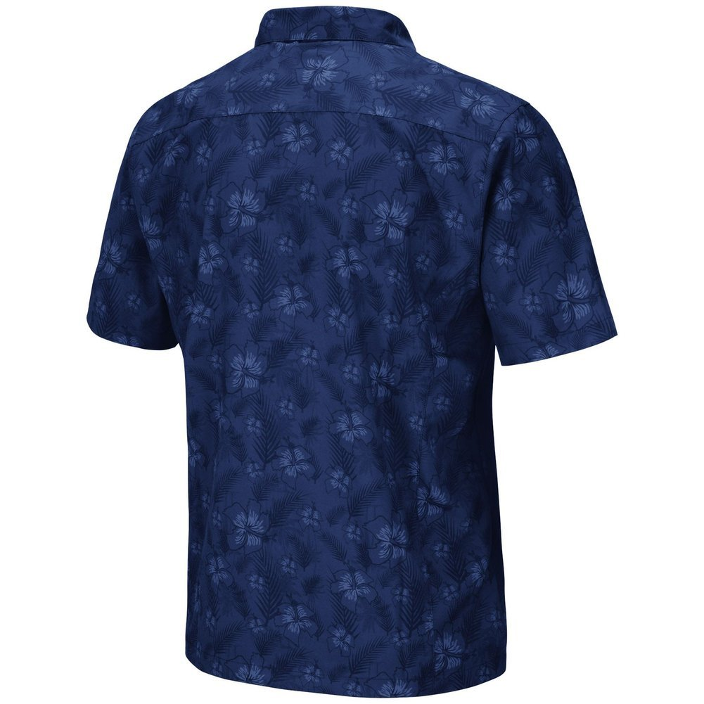Penn State Nittany Lions Hawaiian Camp Button-Up Shirt Image a