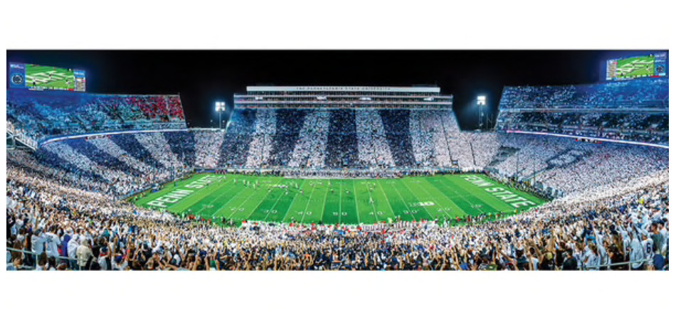 Penn State Nittany Lions Stadium Panoramic Jigsaw Puzzle 1000 pieces Image a