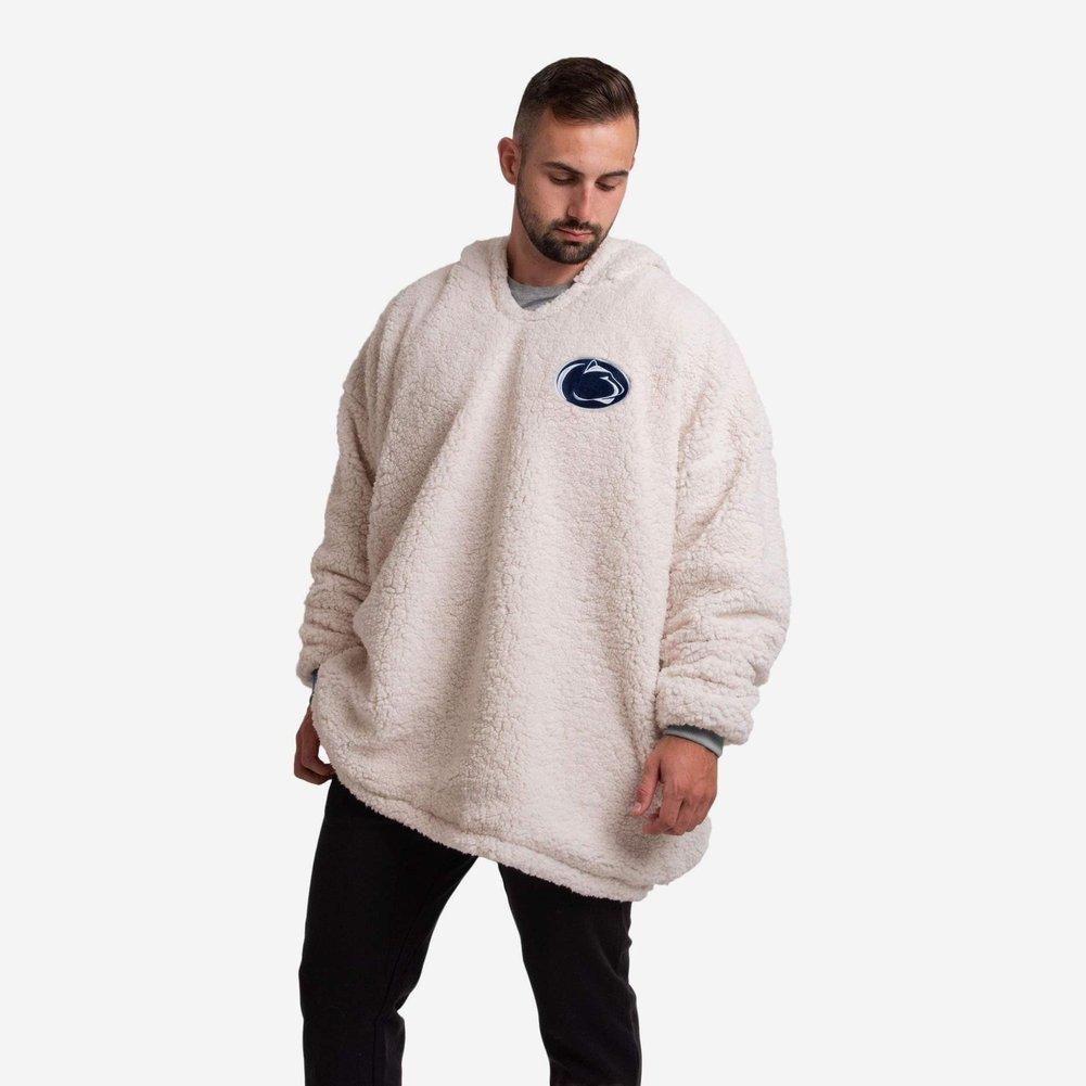 Penn State Reversible Oversized Sherpa Sweatshirt Hoodeez Image a