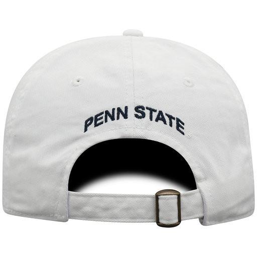 Penn State White Ladies Block S Hat Image a