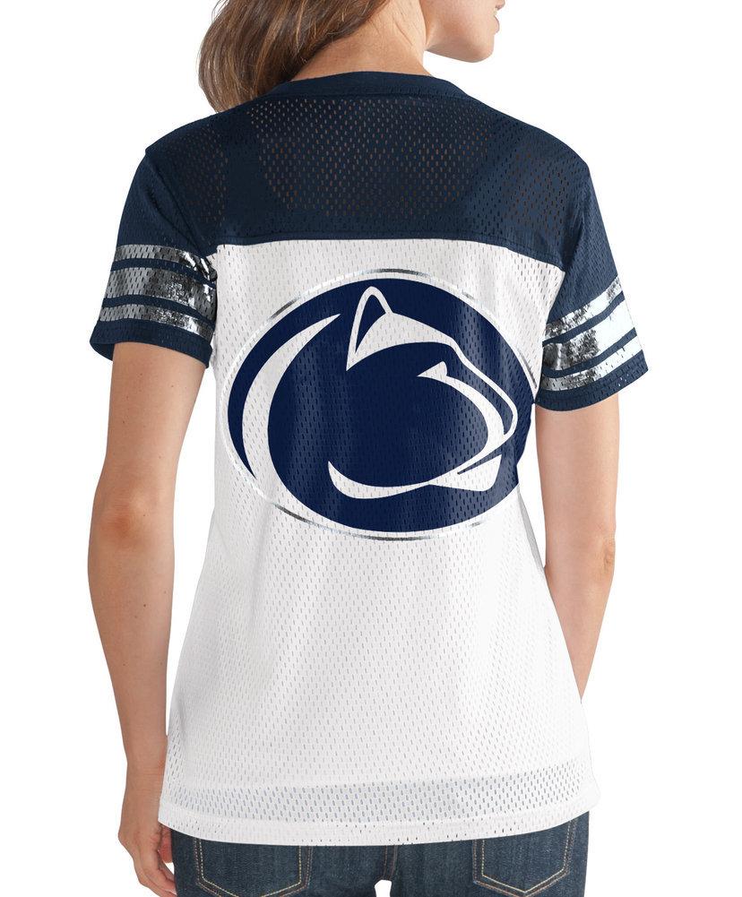 Penn State Women's Mesh Jersey Shirt Image a