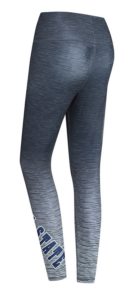 Penn State Women's Nittany Lion Static Yoga Leggings Charcoal  Image a