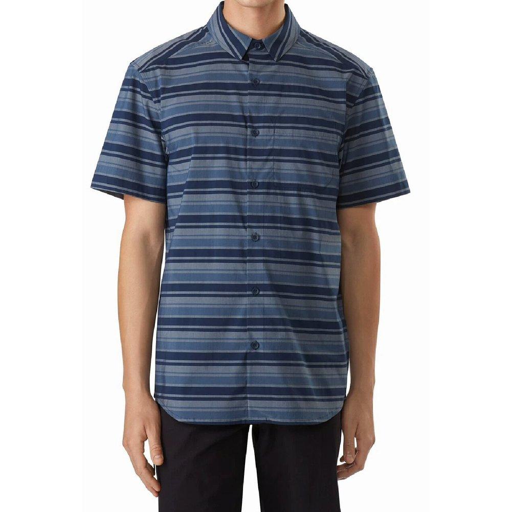 Men's Brohm Striped Shirt SS Image a