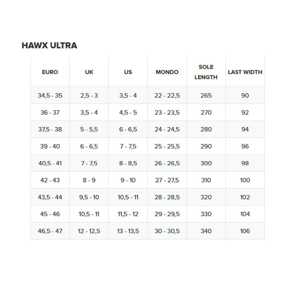 Men's Hawx Ultra 100 Ski Boots Image a