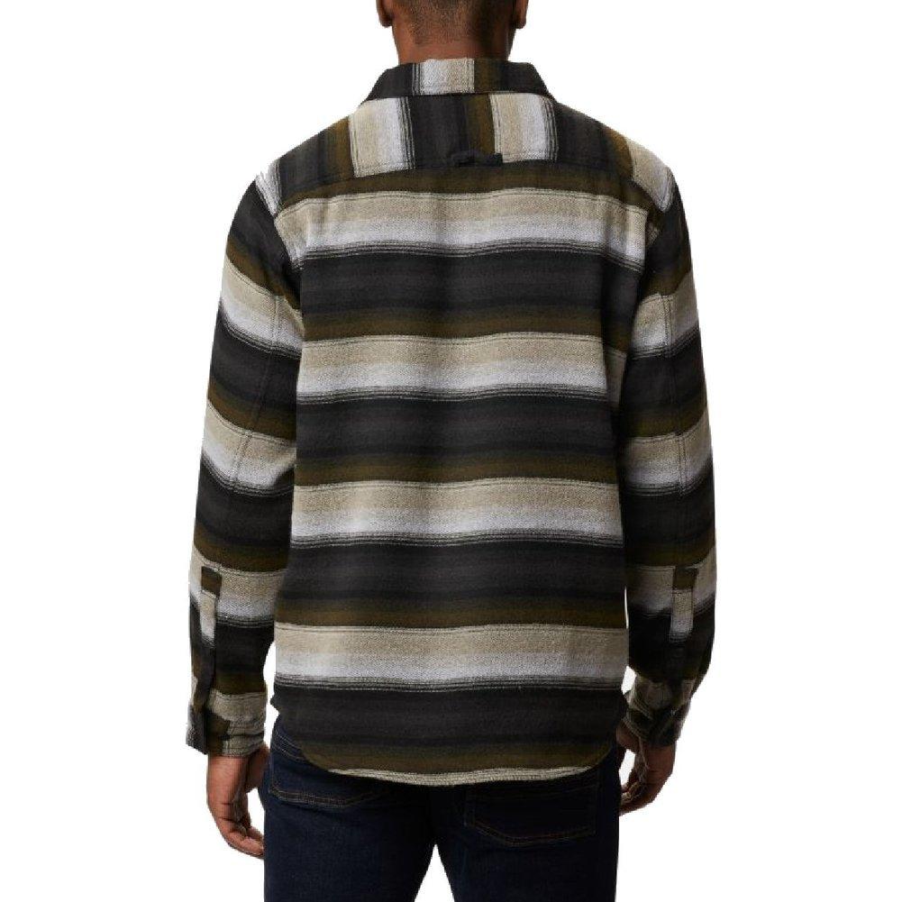 Men's Deschutes River Heavyweight Flannel Shirt Image a