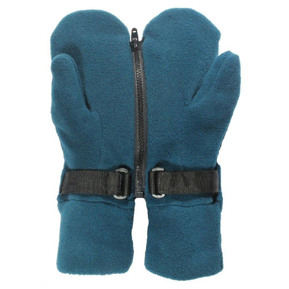 Warm fleece Double Glove Fun Mitts Mittens Image a