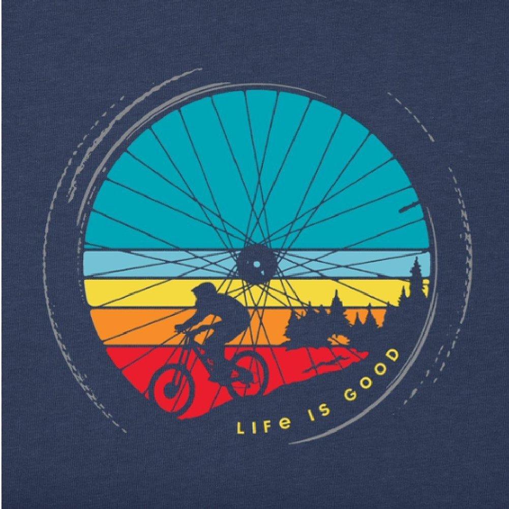 Men's Downhill Crusher Tee Shirt Image a