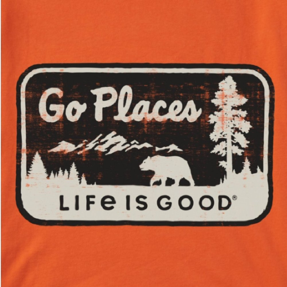Men's Go Places National Park Crusher Tee Shirt Image a